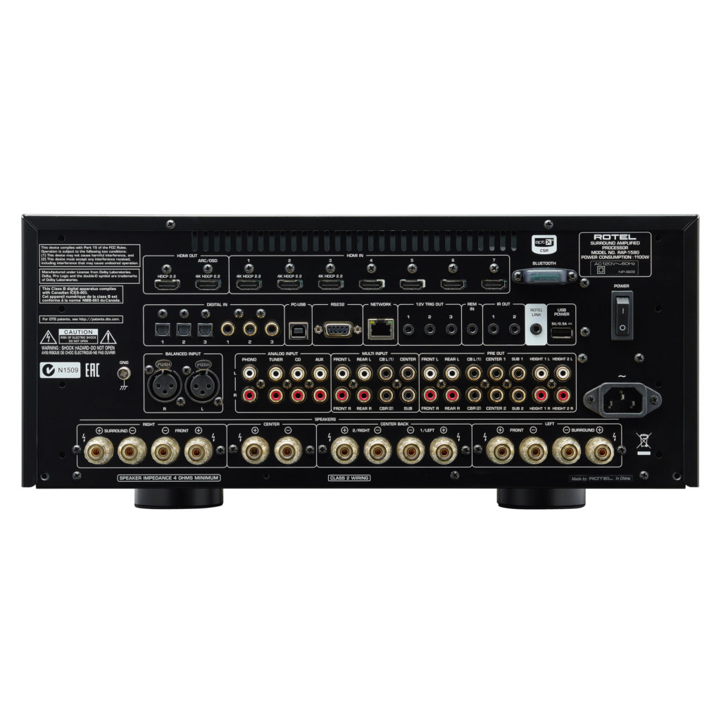 Rotel Rap 1580 Surround Amplified Processor 3 800 Review